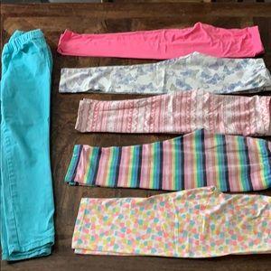 Girls 7/8 pant bundle